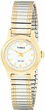 Timex Womens Elevated Classics Dress Two-Tone Expansion Band Watch