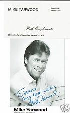 Mike Yarwood Impersonator Comedian Hand Signed Vintage Photograph 5 x 3 + slip