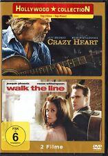 Crazy Heart/Walk the Line [2 DVDs] NEU in Folie (1017)