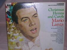 Christmas Hymns and Carols Mario Lanza RCA Camden CAS-777 VG / VG