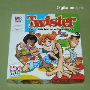 Twister - 1A Top! - Das Spiel mit Verknotungsgefahr von MB Spiele ab 6 Jahren
