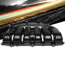 Black ABS Plastic OE Intake Manifold For 02-07 Chevrolet Trailblazer/GMC Envoy