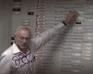Jerry Jones Signed Autographed 8x10 Photo HOF 2017 Dallas Cowboys Owner PSA/DNA