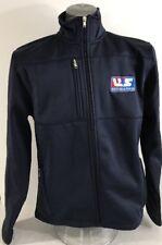 USA Team Apparel Winter Olympics Snowboarding ThumbHole Jacket M Zipper Pockets