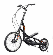 ZIKE Z600 Wingflyer ELLIPTICAL STEPPER SCOOTER FITNESS BICYCLE FOLDABLE BLACK