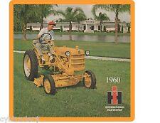 1960 International Harvestor Tractor  Refrigerator / Tool Box  Magnet  Ad