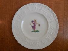 "Wedgwood Dancing Hours or Floral Girl 9 1/2"" Wellesley plate A. Holland ca. 1934"