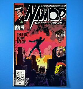 Namor The Sub-Mariner #5 Iron Man Fantastic Four Marvel Comics 1990 John Byrne