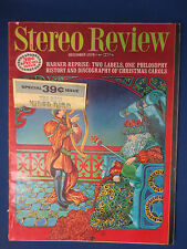STEREO REVIEW MAGAZINE DECEMBER 1970 AR-6 REVIEW WARNER REPRISE RECORDS V2