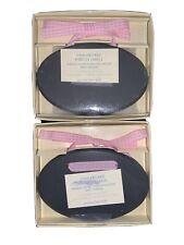 Pottery Barn Kids Chalkboard Ribbon Labels Lot 4 Total Includes Chalk Pink White