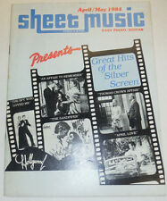 Sheet Music Magazine An Affair To Remember April/May 1984 102414R