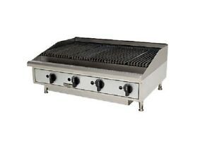 Toastmaster TMRC48, 48-Inch Countertop Radiant Gas Charbroiler, UL