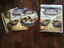 Wrc Fia World Rally PS3 Perfetta Edizione Italiana Completa Disco a Specchio