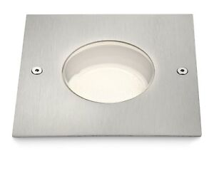 Philips Grounds Recessed Outdoors Light - Inox (1 x 35 W, 230 V)