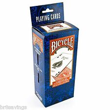 BICYCLE PLAYING CARDS Poker 12 Pack - 6 BLUE & 6 RED Standard Decks 808 Bridge