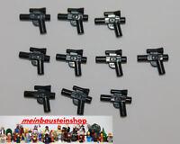 10X Lego® 92738 Star Wars Minifigur Pistole klein Weapon Gun Small NEU
