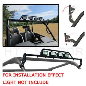 "Adjustable LED Light Bar Universal 2"" Mount Can-Am Commander For Kawasaki Teryx"