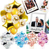 Confetti Filled Helium Balloons Birthday Wedding Selfie Photo Booth Props Frames