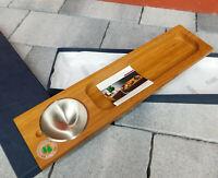 MASINI FIRENZE set antipasto OA89772 BAMBOO presentoir en bois de table PLATEAU