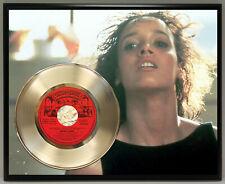Irene Cara Poster Art Metalized Record Music Memorabilia Wall Art