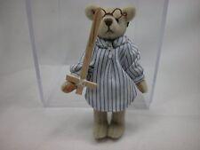 """World of Miniature Bears 3"""" Velvet Bear John #1190 Closing"""
