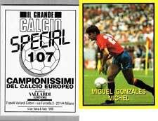 Gonzales (Spain) Rare Italian Issue 1988 Football! New! Grande Calcio 107