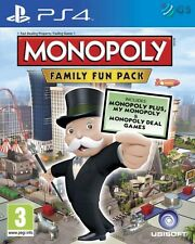 Monopoly Family Fun Pack PS4 * NEW SEALED PAL *