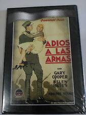 ADIOS A LAS ARMAS DVD SLIM GARY COOPER HELEN HAYES ESPAÑOL NEW SEALED NUEVA