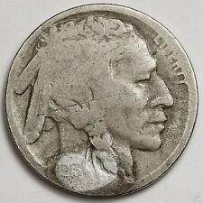 1913-d Buffalo Nickel. Type Two. Acid Restored Date. 98162