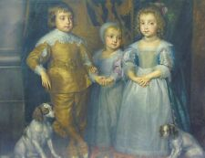 Portrait The Children of Charles I After Sir Anthony Van Dyck 1599-1641
