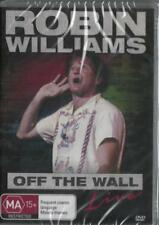 ROBIN WILLIAMS OFF THE WALL LIVE - NEW & SEALED DVD - FREE LOCAL POST