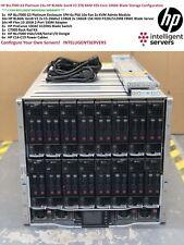 HP BLc7000 G3 16x HP BL460c Gen8 V2 320-Core 2TB RAM 10GbE Blade Server Solution