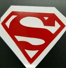 Superman Sticker/Decal Different Sizes And Colors for Car Window, Laptop Outside