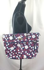 Tommy hilfiger tote floral multicolor zipper fly weekender women  NWT