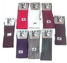 Girls Knee High Socks Plain black white Grey Red  all size