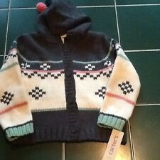 Girls Size 4 Hooded Sweater Carters