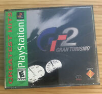 Gran Turismo 2 Greatest Hits Ps1 Complete w/ Manuals