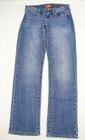 Lucky Brand Womens Jeans Size 6 Sofia Straight Blue Denim