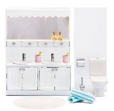 Badezimmer WC Waschtisch Puppenhaus Lundby Schweden