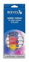 Reeves Watercolour Tube Sets - Water Colour - 12x10ml - 18x10ml - 24x10ml