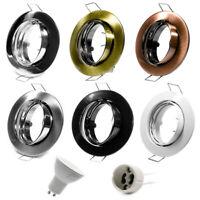 Einbaurahmen Einbauspot Einbaustrahler Einbauleuchte GU10 Schwenkbar LED