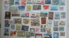 50 Different Iceland Stamp Collection