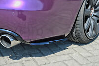 Heckansatz Diffusor Spoilerecken Seitenteile aus ABS für Audi A4 B8 Limo Avant