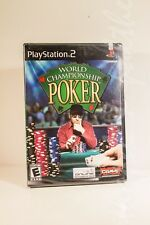 "Sony PlayStation WORLD CHAMPIONSHIP POKER (PS2, 2004) ""NEW"""
