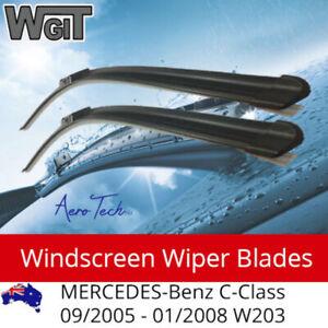 Windscreen Wiper Blades For MERCEDES-Benz C-Class 09-2005 - 01-2008 W203-Aero Te