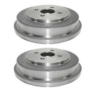 🔥Durago Pair Set Of 2 Rear Brake Drums for Chevrolet Pontiac Saturn🔥