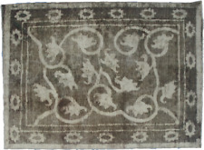 Antique Handmade Overdyed Distressed Rug 198 x 148cm