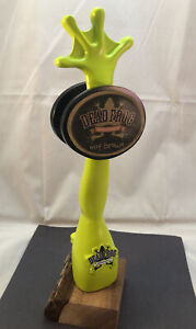 Beer Tap Handle Dead Frog Nut Brown Beer Tap Handle Rare Figural Beer Tap Handle