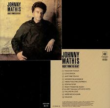 JOHNNY MATHIS  right from the heart