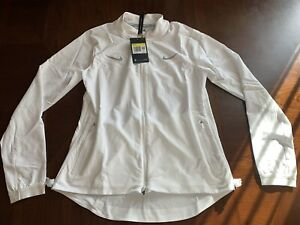 Nike Womens Running Jacket With Reflective Swoosh Size Small CU3042-100